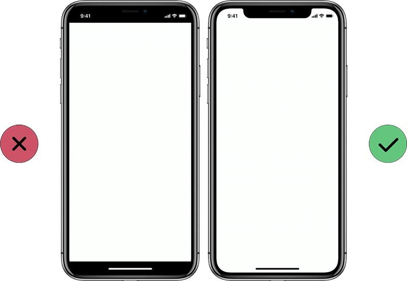 iphone x visualization